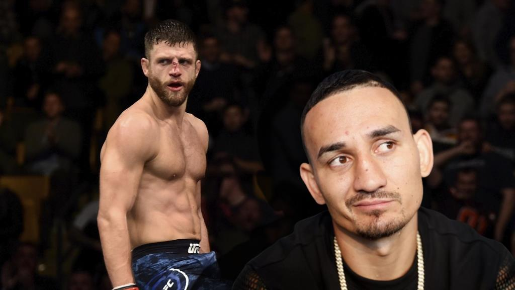 Max Holloway responded to criticism from Calvin Kattar