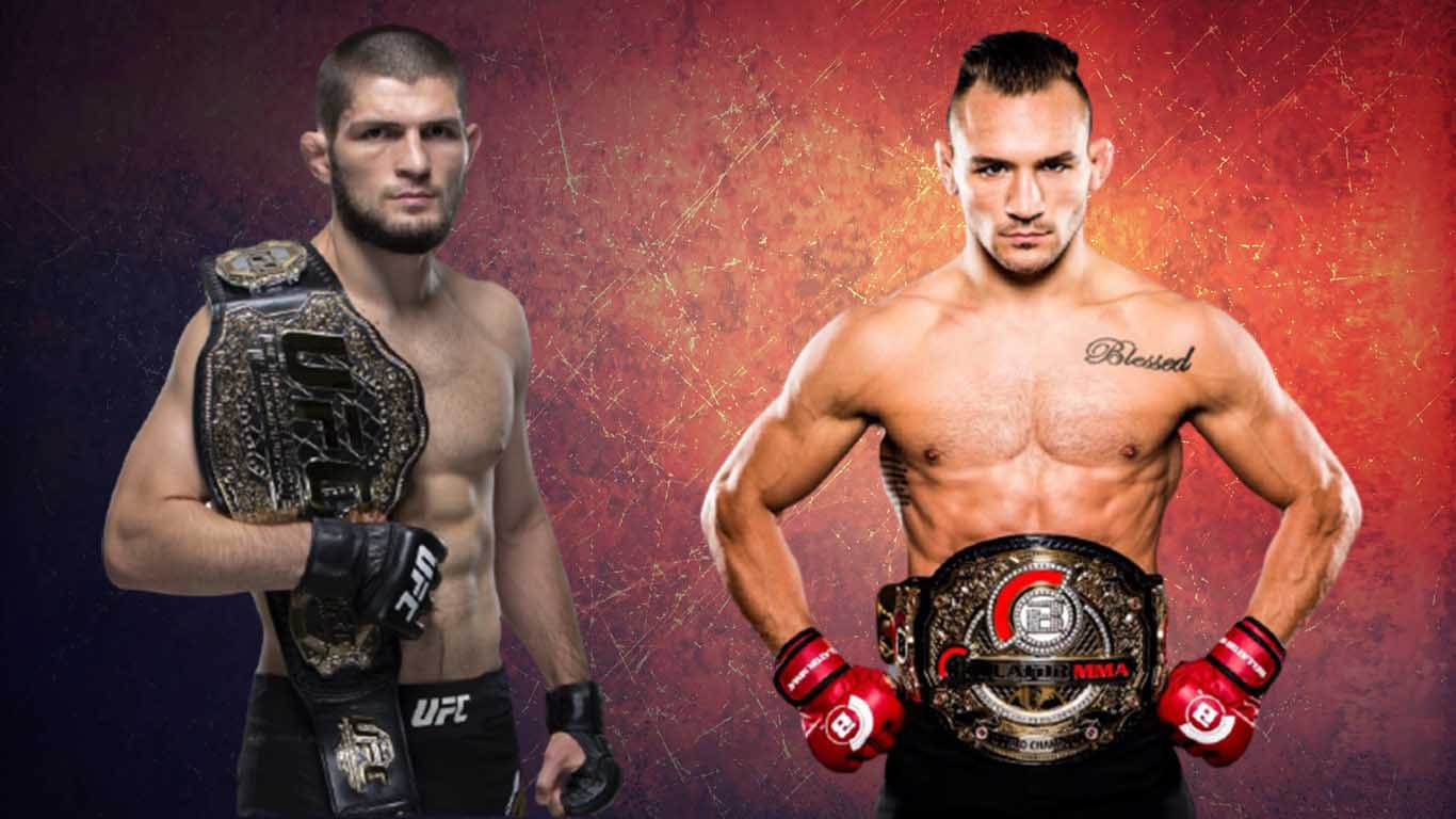 Michael Chandler I can do a fight with Khabib in the USA