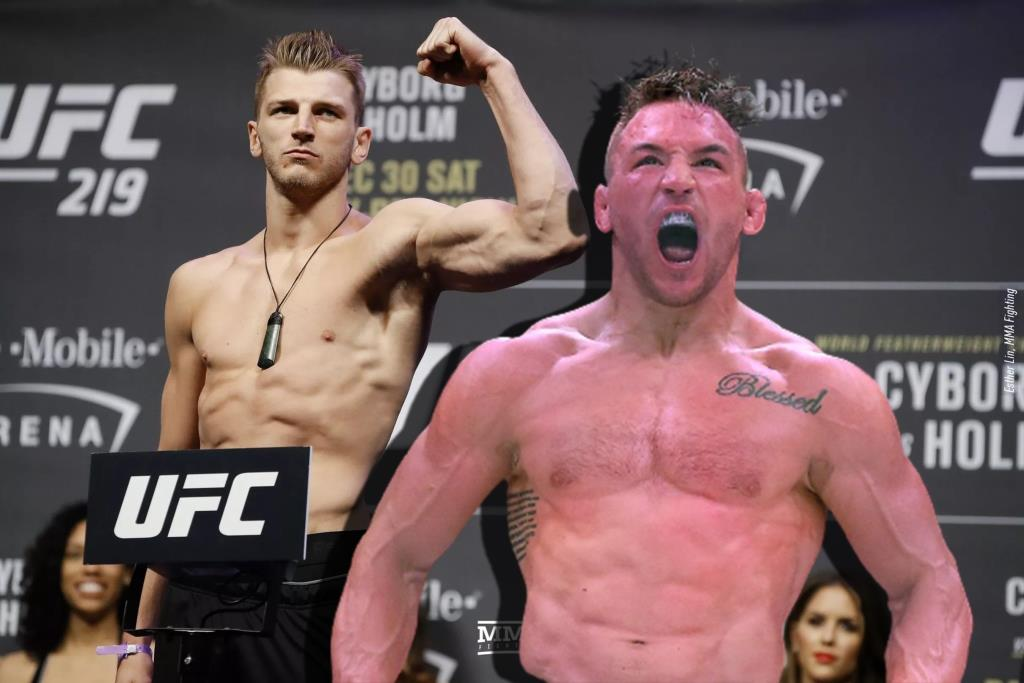 Michael Chandler I was turned down by all of the top five in the lightweight division