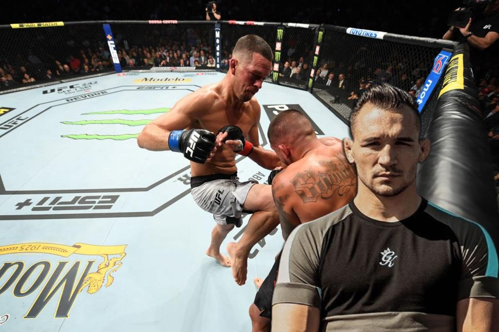 Michael Chandler spoke about the fight with Nate Diaz.