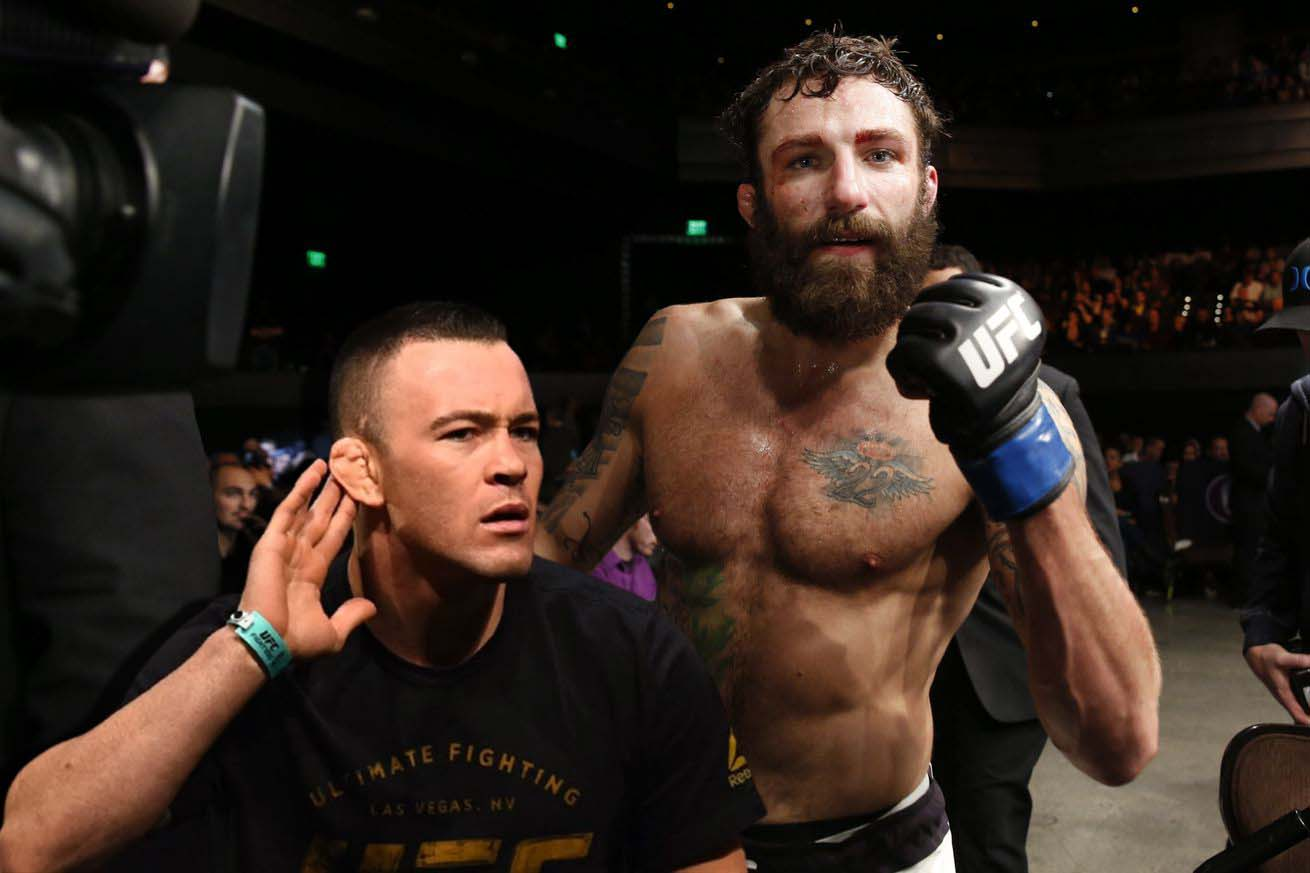Michael Chiesa challenges Colby Covington after defeating Neil Magny