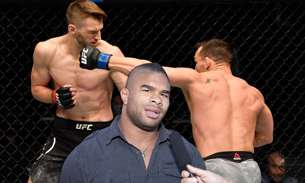 Alistair Overeem does not consider Michael Chandler's victory as the best debut in UFC history