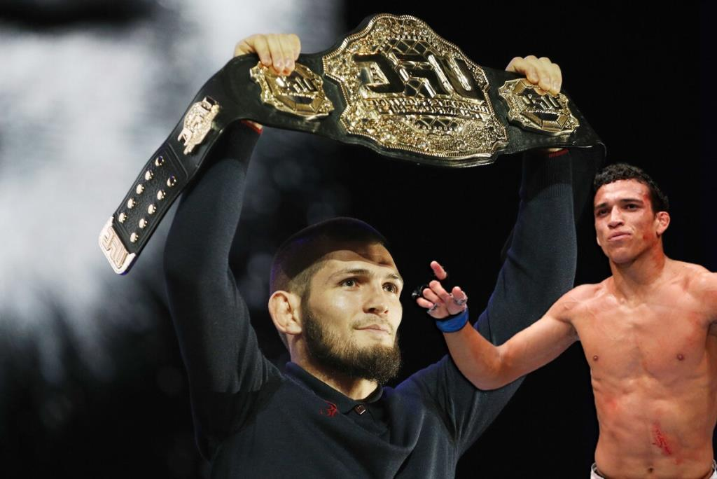 Charles Oliveira wants to take the title from Khabib Nurmagomedov