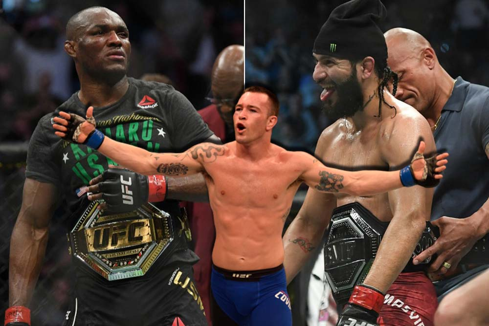 Colby Covington is furious with Kamaru Usman's desire to have a rematch with Jorge Masvidal
