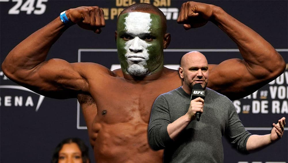 Dana White believes that in the future, fans will recognize Kamaru Usman as one of the greatest MMA fighters.
