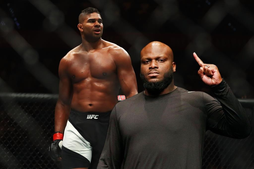 Derrick Lewis asks Alistair Overeem not to end his career until he fights with him