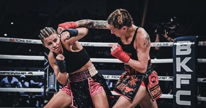 Fight Video Paige VanZant - Britain Hart. BKFC Knuckle Mania