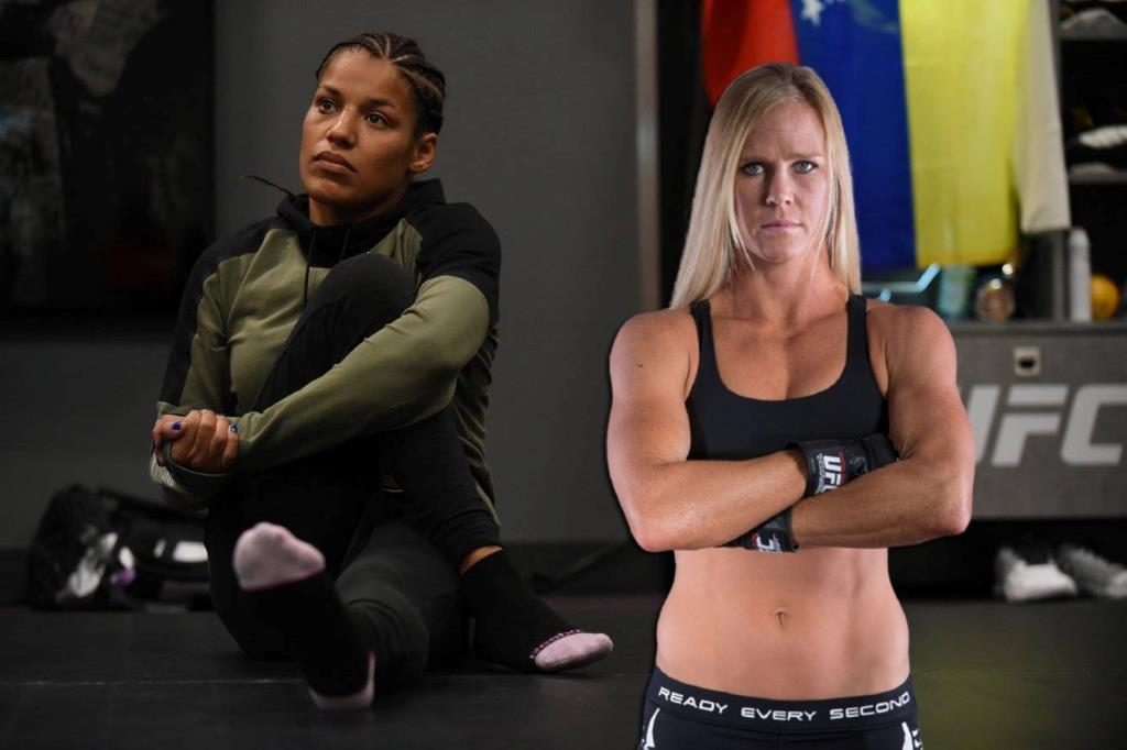 Holly Holm and Julianna Pena will fight on May 8th