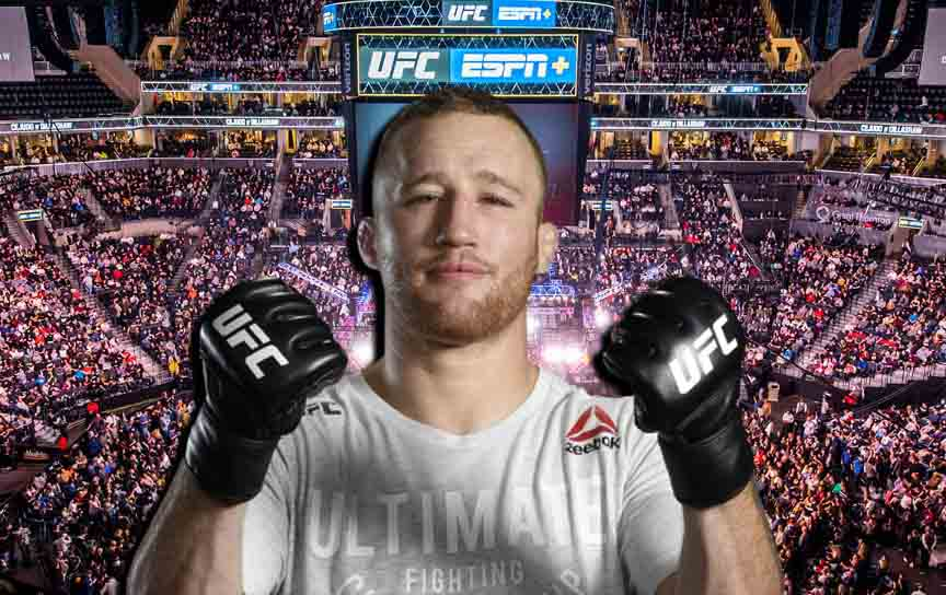 Justin Gaethje named opponents he would like to face in the next fight
