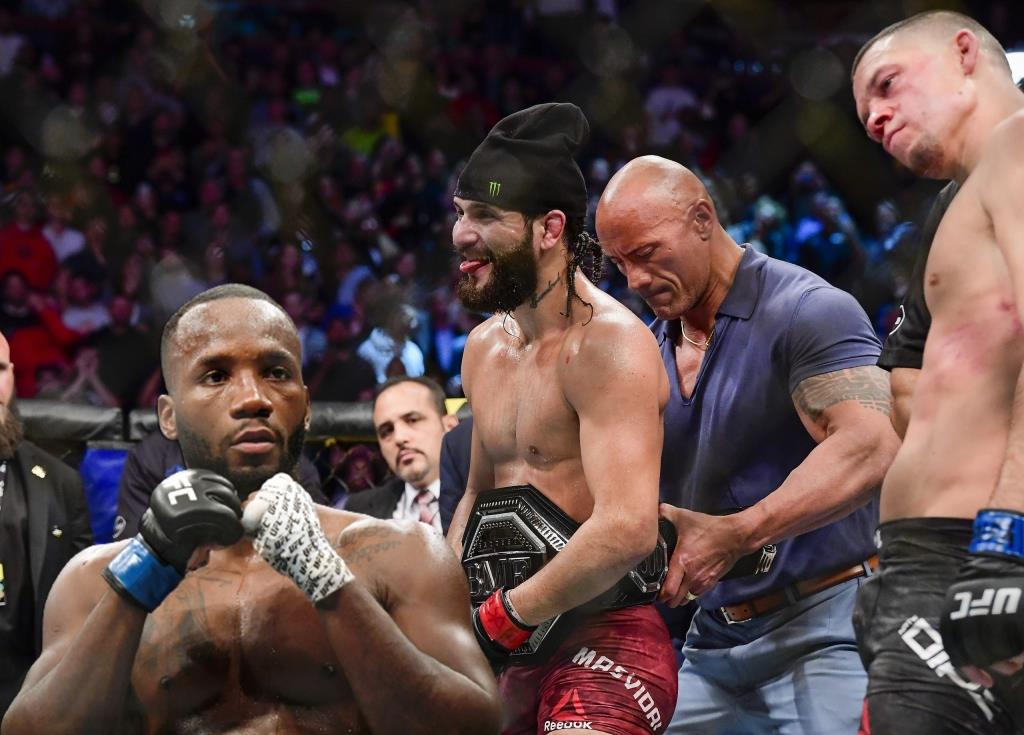 Leon Edwards spoke about the fight with Jorge Masvidal.