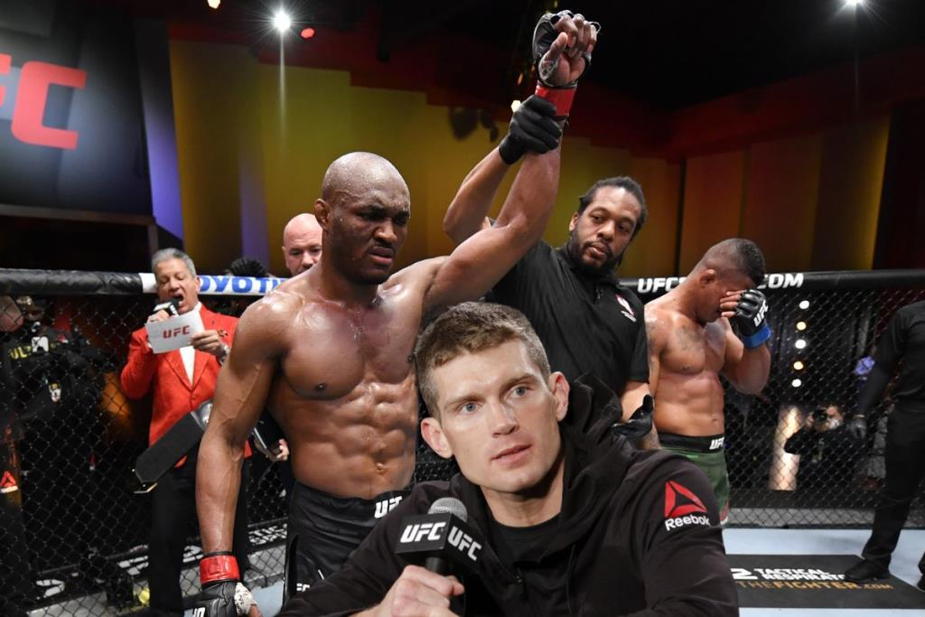 Stephen Thompson believes that he should be the next opponent for Kamaru Usman.