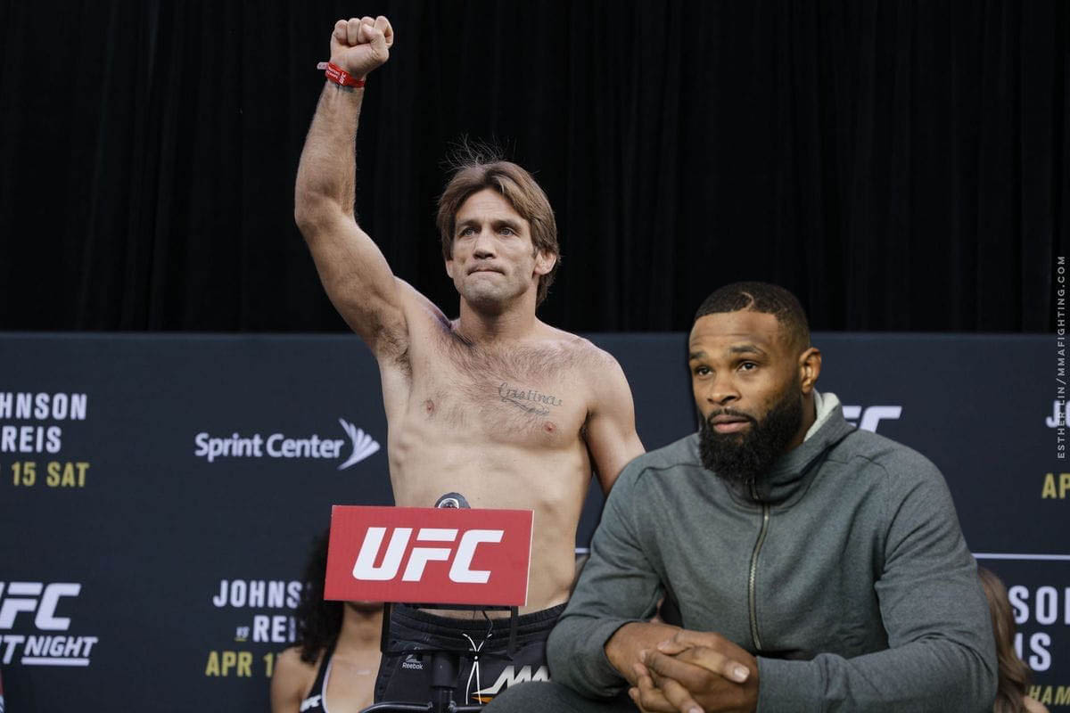 Tyron Woodley names the hardest rival he's ever confronted