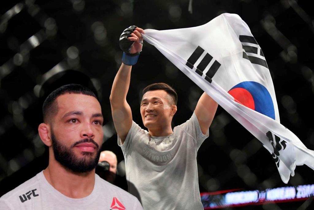 Dan Ige wants to face the Korean Zombie in the next fight