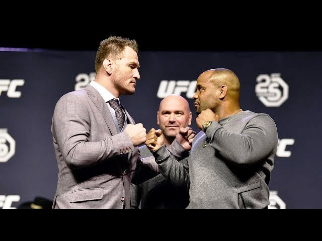 Daniel Cormier and Stipe Miocic talked about how they treat each other.