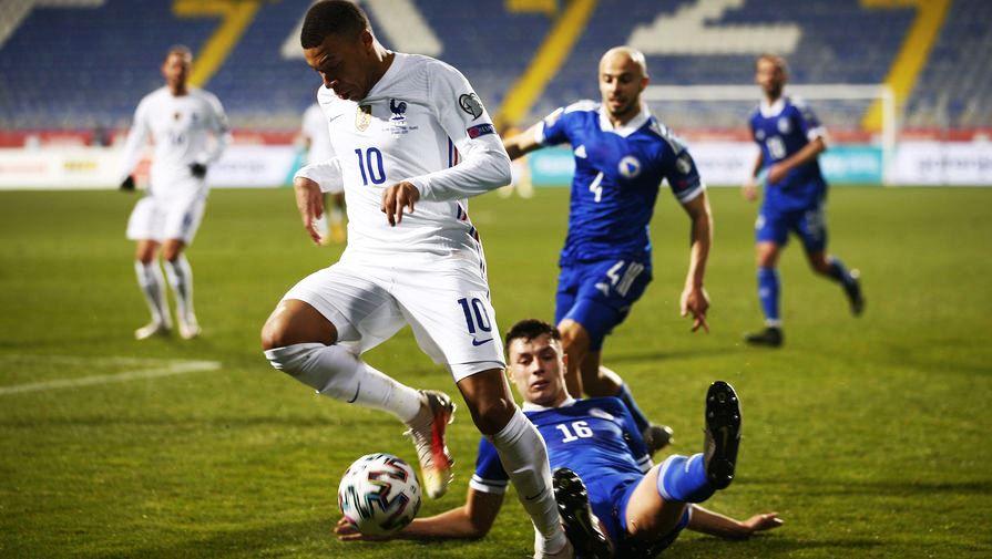 France beat Bosnia and Herzegovina away