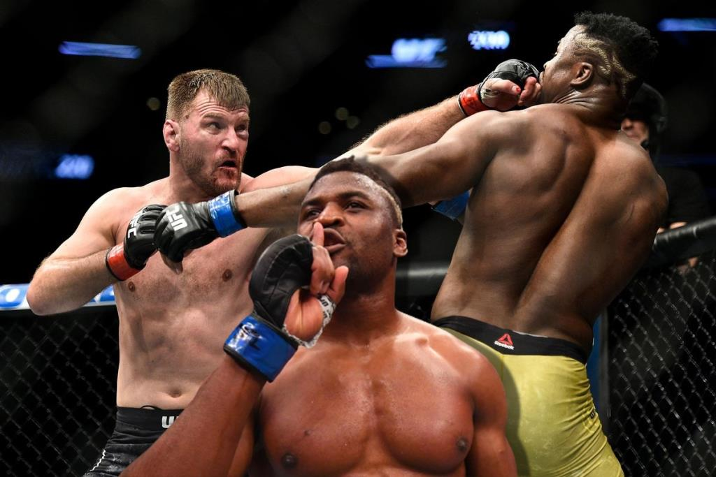 Francis Ngannou remembered the first fight of Stipe Miocic and told about his mistakes.