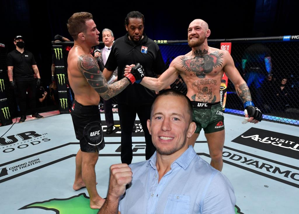 George St-Pierre spoke about the reasons for McGregor's defeat in rematch with Poirier