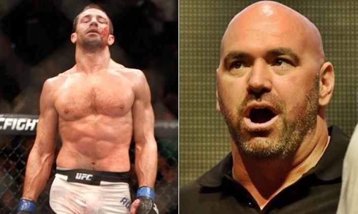 Luke Rockhold criticized Dana White. Details.