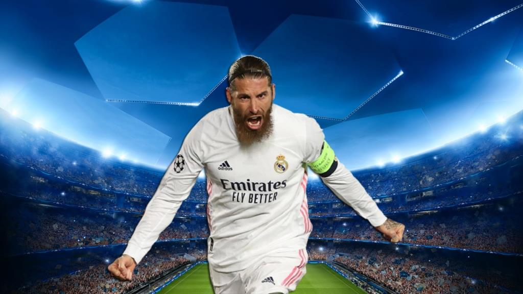 Sergio Ramos - second most goals scored by defenders in the Champions League