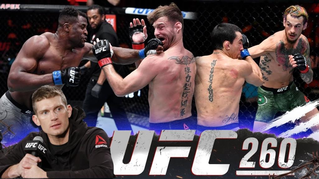 Stephen Thompson comments on the 3 main fights of UFC 260
