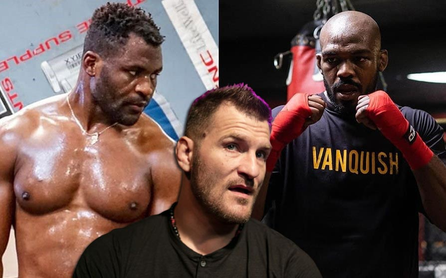 Stipe Miocic doesn't think about superfight with Jon Jones until he defeats Francis Ngannou at UFC 260
