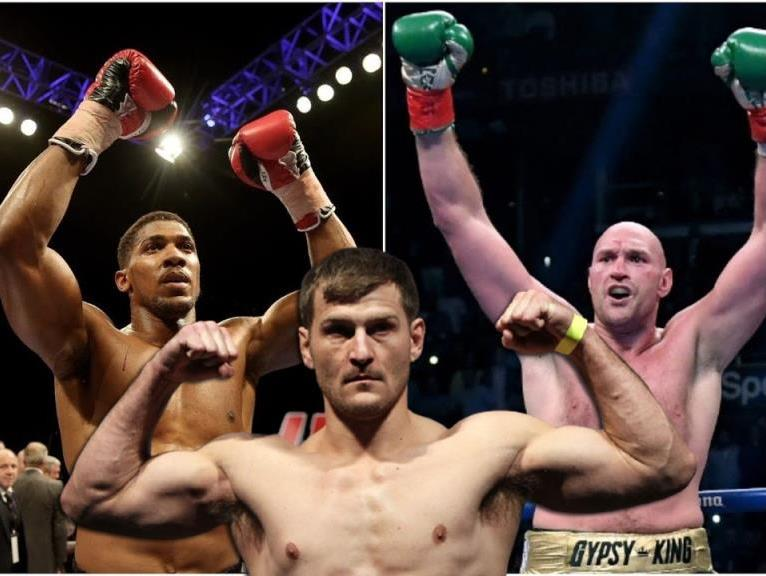 Stipe Miocic with interest shared his thoughts on boxing fight with Joshua or Fury.