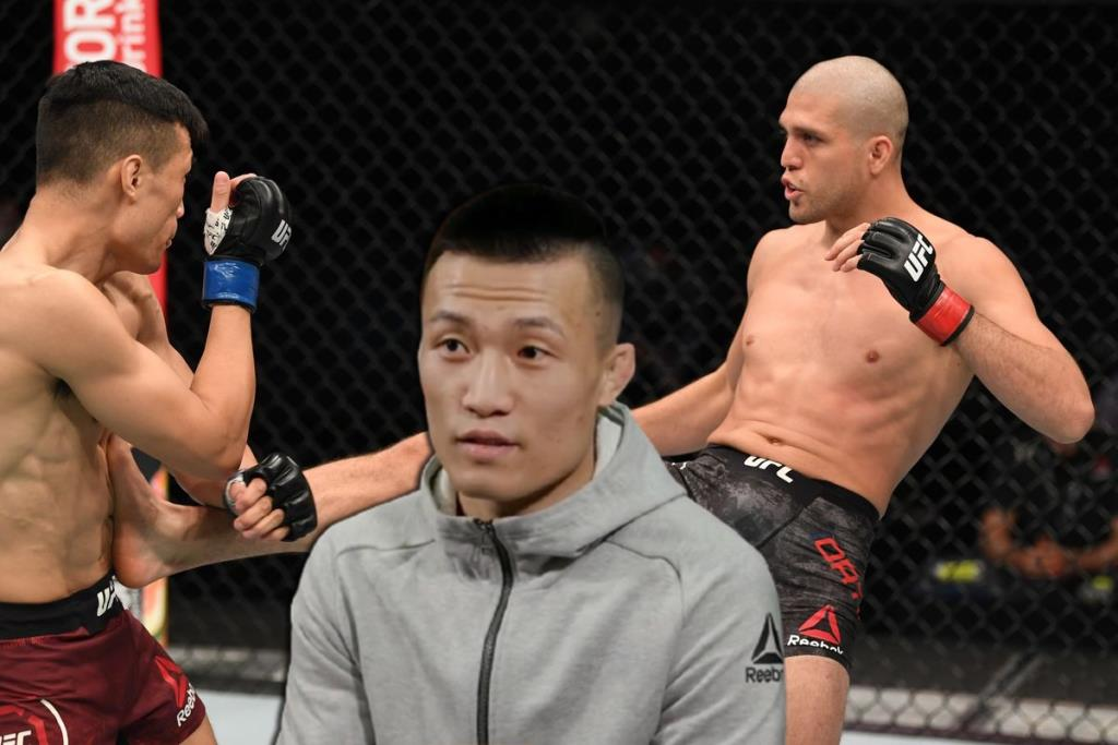 The Korean Zombie after the defeat by Brian Ortega thought about changing the weight category