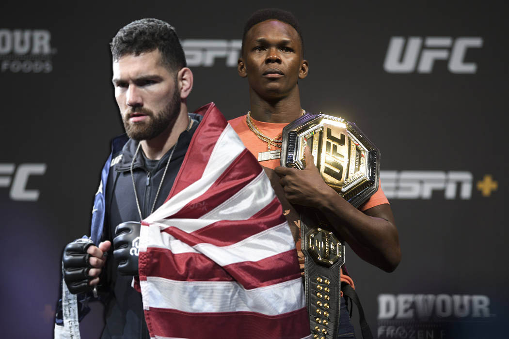 Chris Weidman revealed when his fight against Israel Adesanya will take place