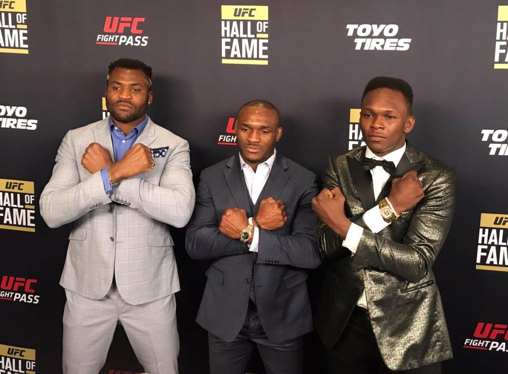 Francis Ngannou commented on Usman's victory in rematch with Masvidal