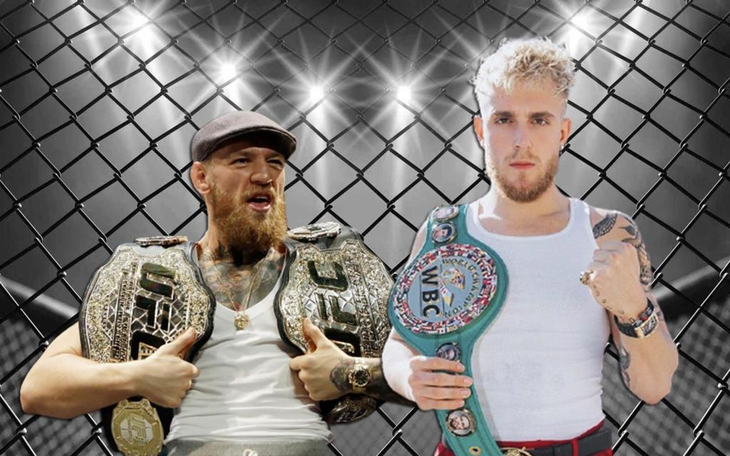 Jake Paul suggests he is close to fighting with Conor Mcgregor.