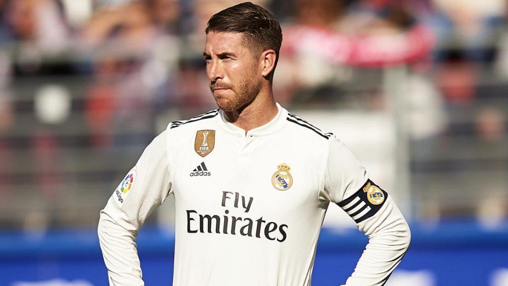 Sergio Ramos missed Real Madrid's squad against Osasuna
