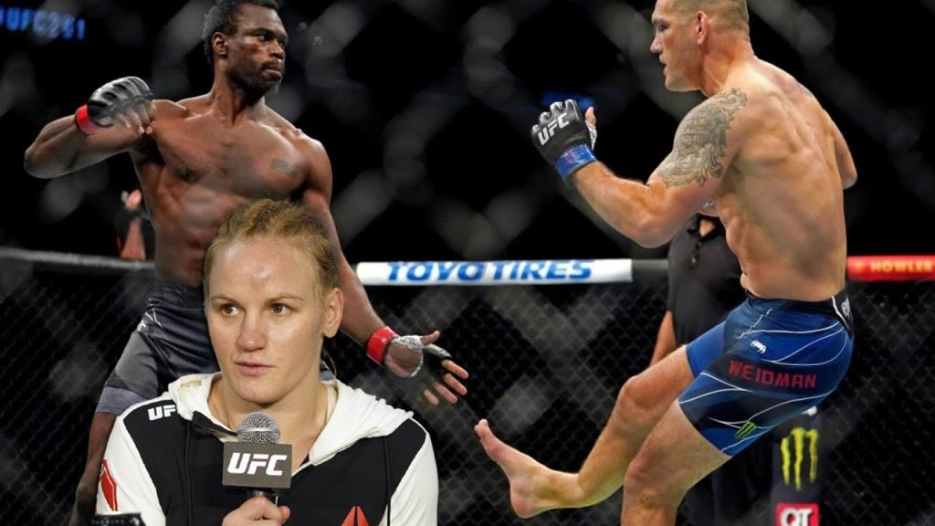 Valentina Shevchenko spoke about the terrible injury of Chris Weidman in the fight with Hall