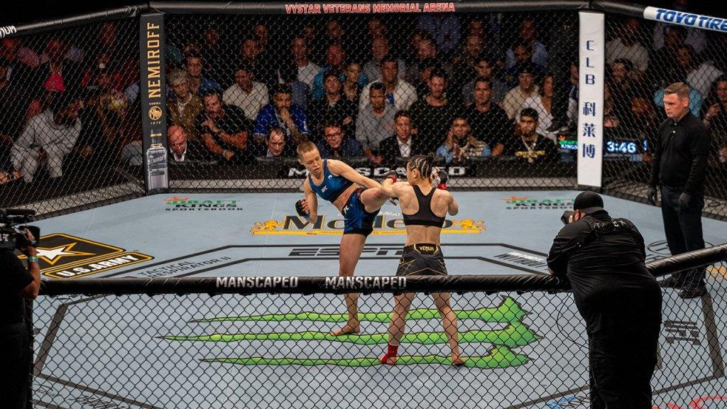 Weili Zhang commented on her defeat to Rose Namajunas at UFC 261