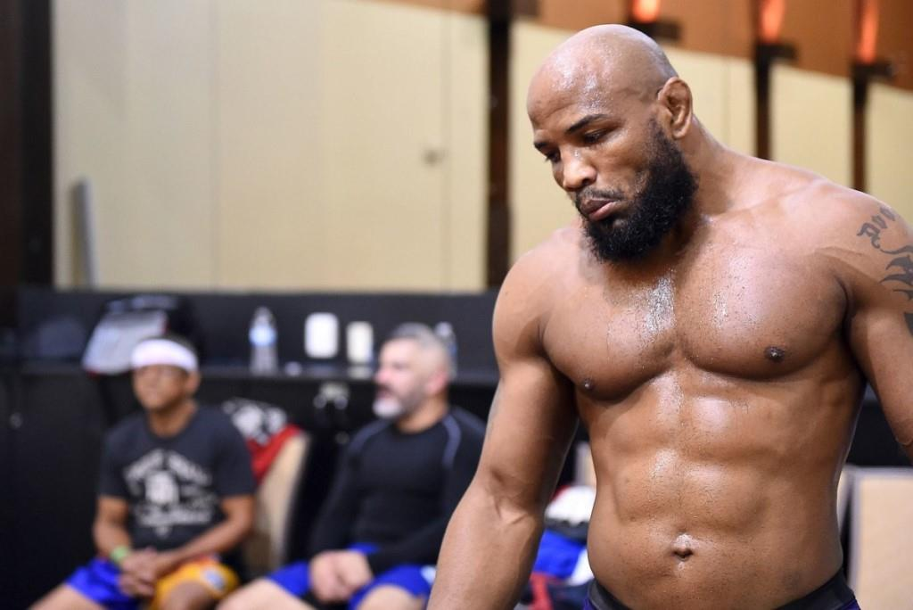 Yoel Romero is out of the fight with Anthony Johnson at Bellator 258