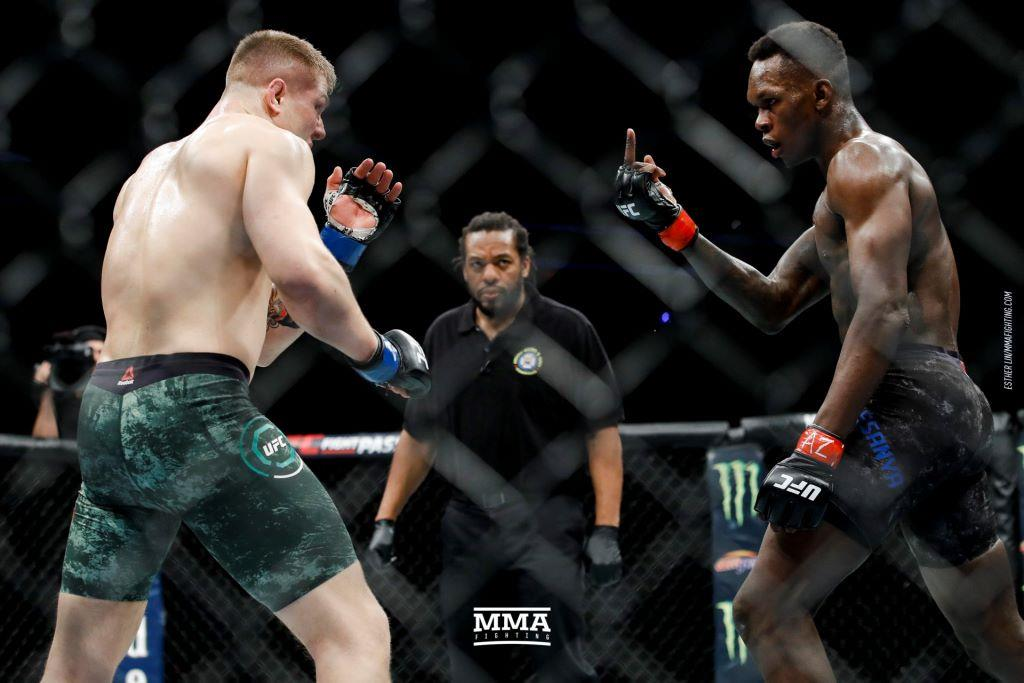 Israel Adesanya edges out Marvin Vettori: UFC free fight: Video