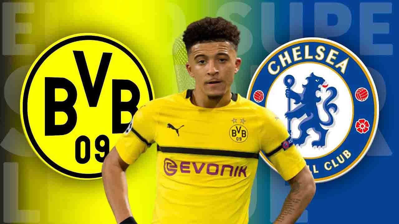 Chelsea launch robust bid for Dortmund's Jadon Sancho