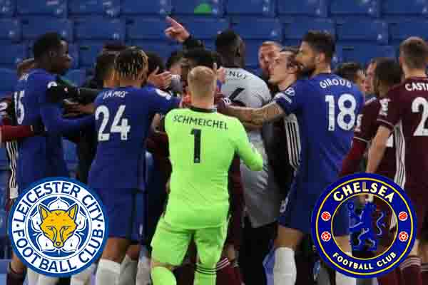Chelsea - Leicester City 2-1 More emotions