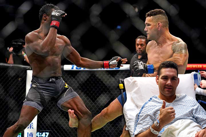 Chris Weidman has suggested that he may end his career after receiving a turning point in a fight with Uriah Hall