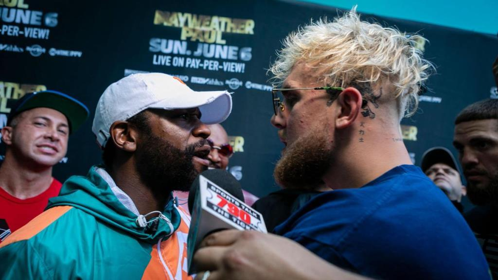 Floyd Mayweather and Jake Paul got into a fight. Details
