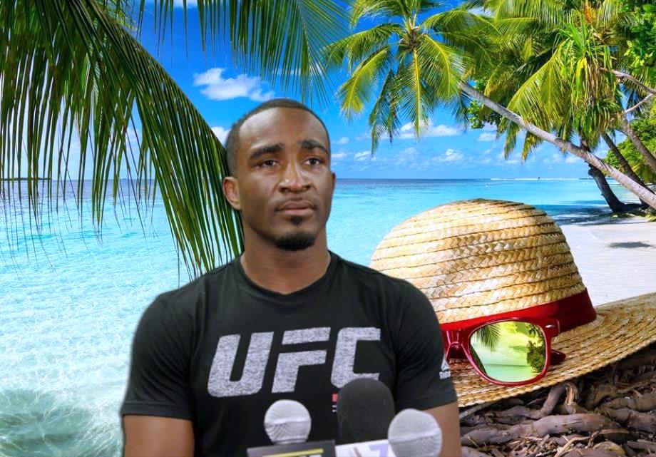 Geoff Neal plans to pause his career after losing at UFC on ESPN 24