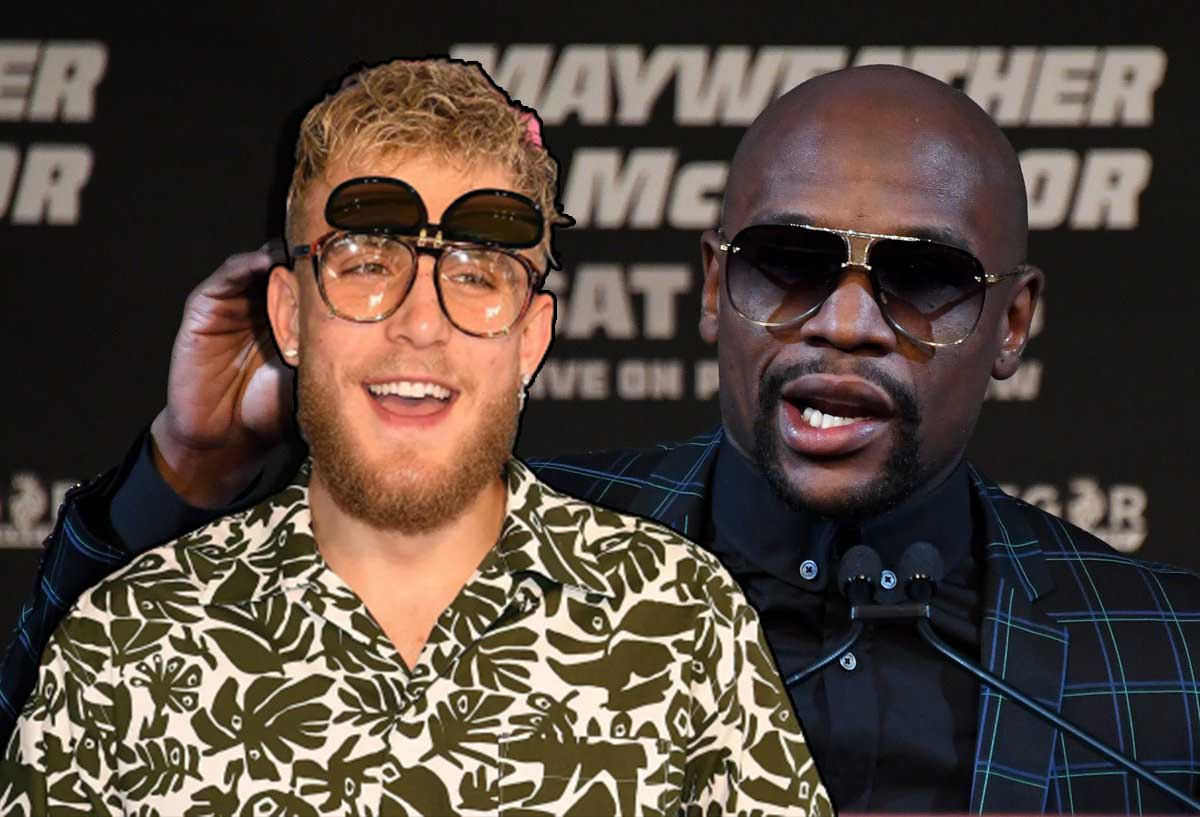 Jake Paul trolls Floyd Mayweather during his Clubhouse interview Video