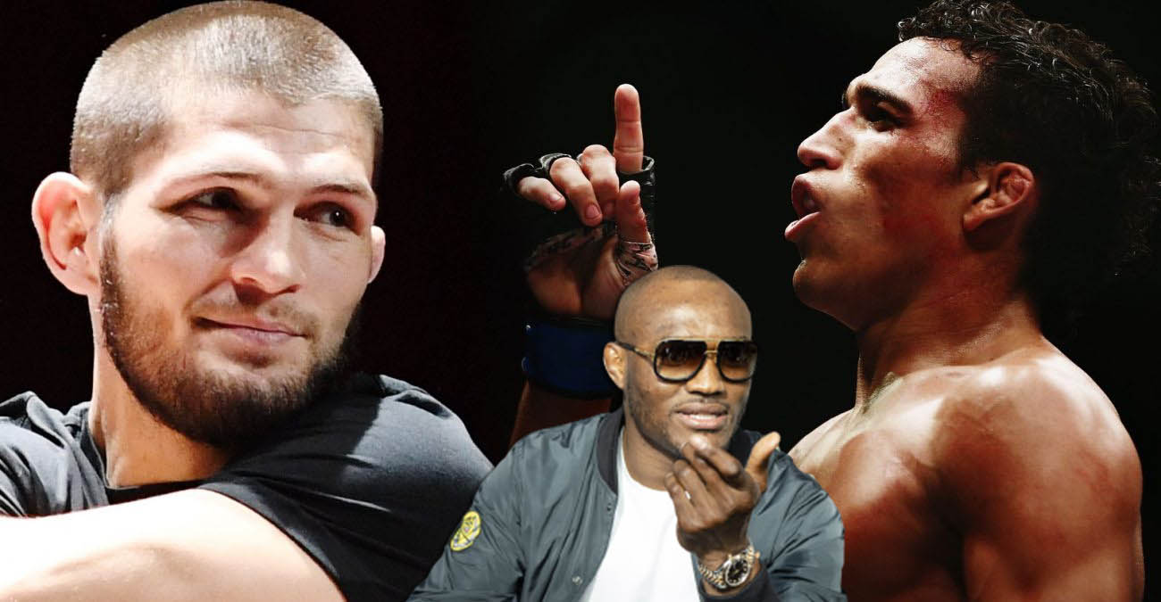 Kamaru Usman was skeptical about the fight between Oliveira and Nurmagomedov