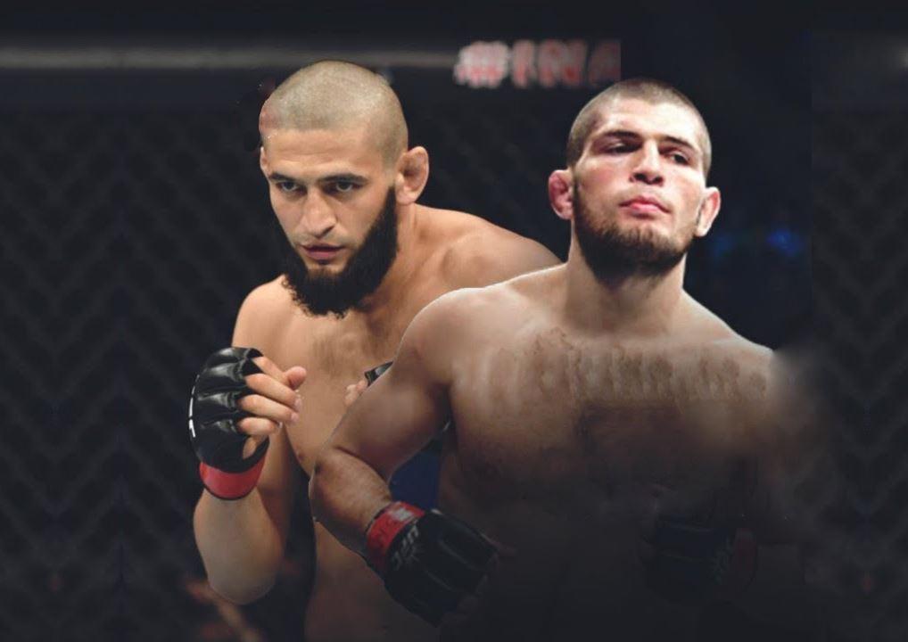 Khamzat Chimaev challenged Khabib Nurmagomedov