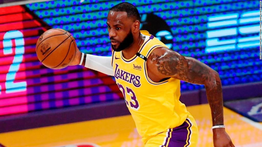 LeBron James reflects on game-winning shot as Lakers overcome Warriors to reach play-offs