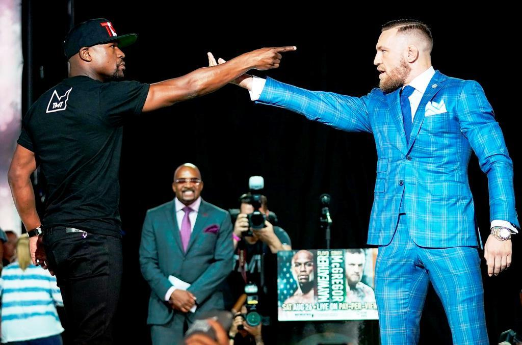 McGregor said that he would change in preparation for the fight with Mayweather