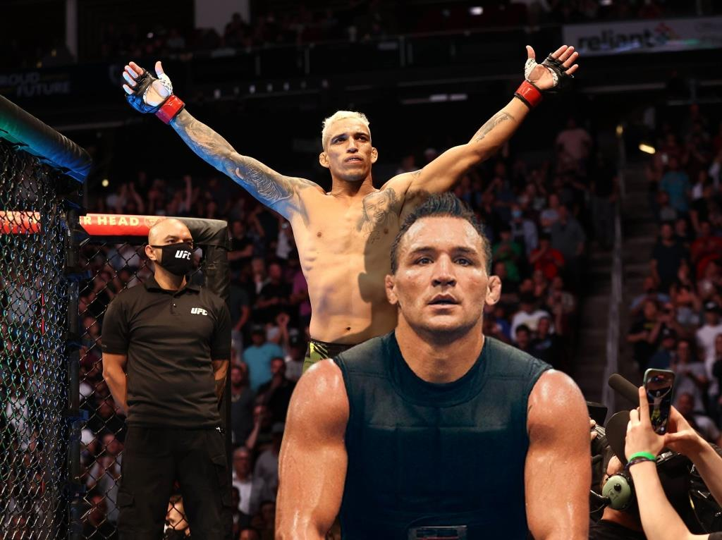 Michael Chandler spoke out on social media after being defeated by Charles Oliveira