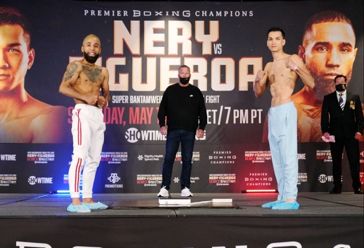 Nery-Figueroa Showtime Weigh-In Report From Carson, California