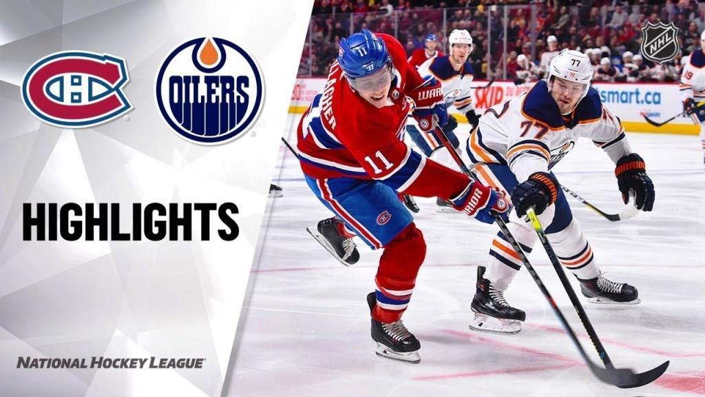 Oilers vs. Canadiens