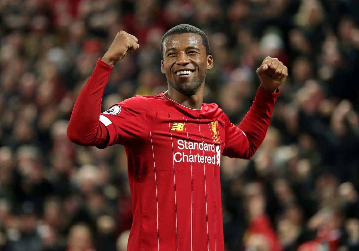 PSG, Bayern and Barcelona all in negotiate with Liverpool midfielder Gini Wijnaldum