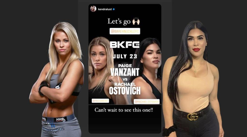Paige VanZant and Rachael Ostovich react after rematch booked in BKFC
